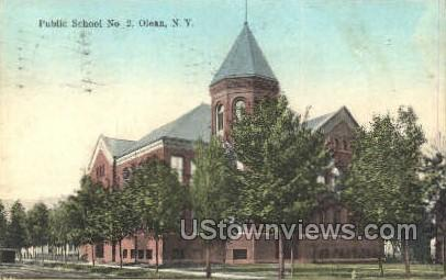Public School No. 2 - Olean, New York NY Postcard