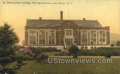 St. Bonaventure College - Olean, New York NY Postcard