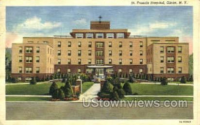 St. Francis Hospital - Olean, New York NY Postcard