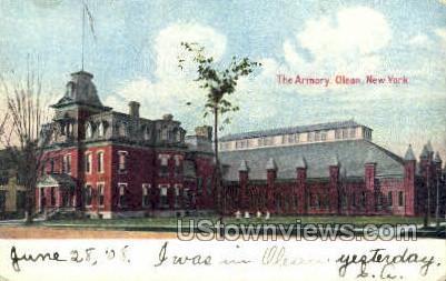 The Armory - Olean, New York NY Postcard
