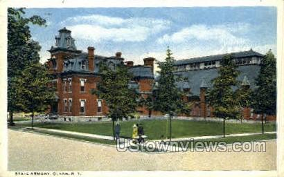 State Armory - Olean, New York NY Postcard