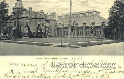 Armory - Olean, New York NY Postcard