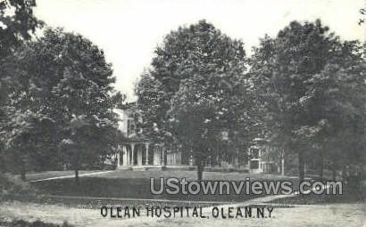 Olean Hospital - New York NY Postcard