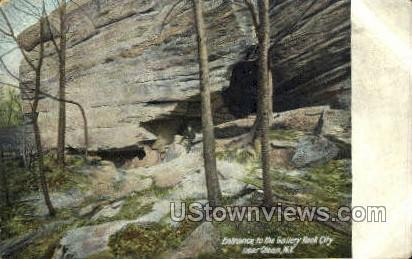 Galley Rock City - Olean, New York NY Postcard