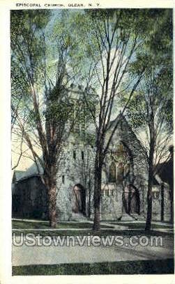 Episcopal Church - Olean, New York NY Postcard