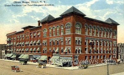 Olean House - New York NY Postcard
