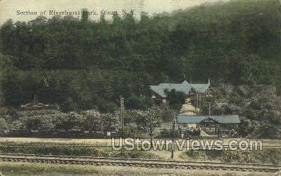 Riverhurst Park - Olean, New York NY Postcard