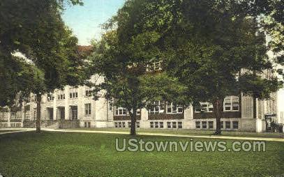 Olean High School - New York NY Postcard