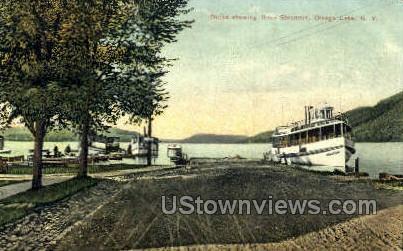 Otsego Lake, New York, NY Postcard
