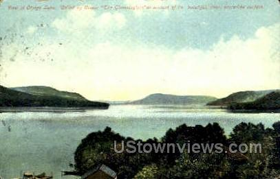 The Glimmerglass - Otsego Lake, New York NY Postcard