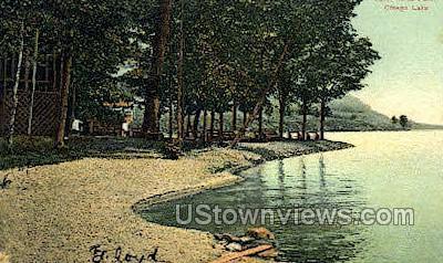 Three-Mile Point - Otsego Lake, New York NY Postcard