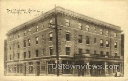 Owego Hotel - New York NY Postcard
