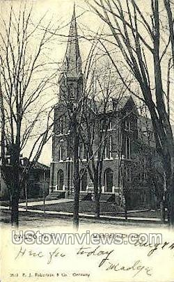 Methodist Church - Owego, New York NY Postcard