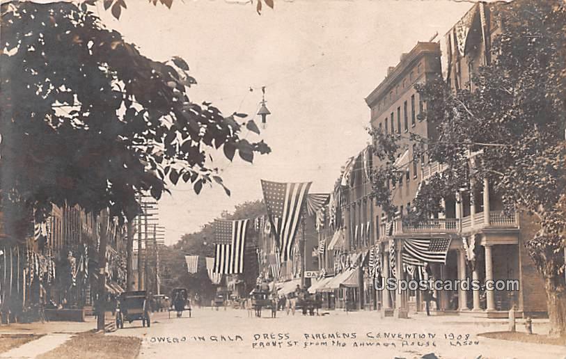 Owego in Gala Dress - New York NY Postcard