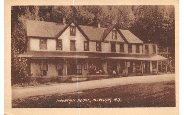 Mountain House Oliverea, New York Postcard