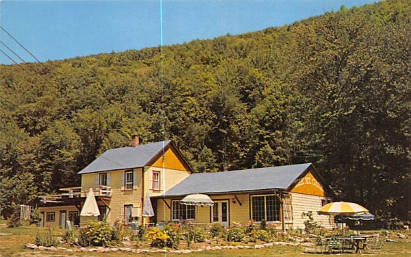 Mountain Gate Oliverea, New York Postcard