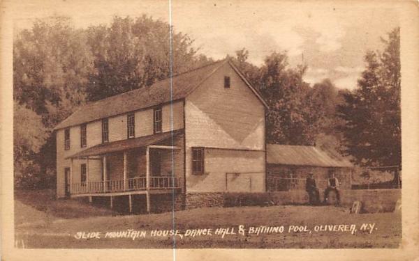 Slide Mountain House Oliverea, New York Postcard