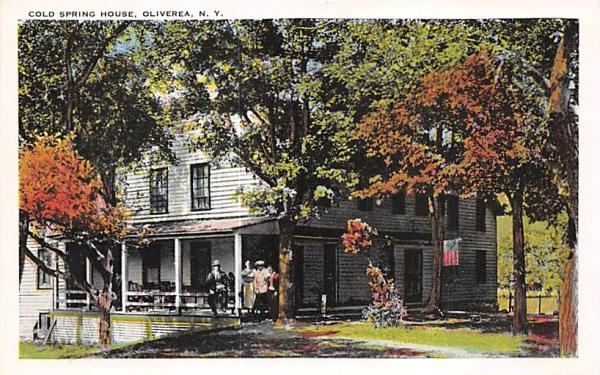 Cold Spring House Oliverea, New York Postcard