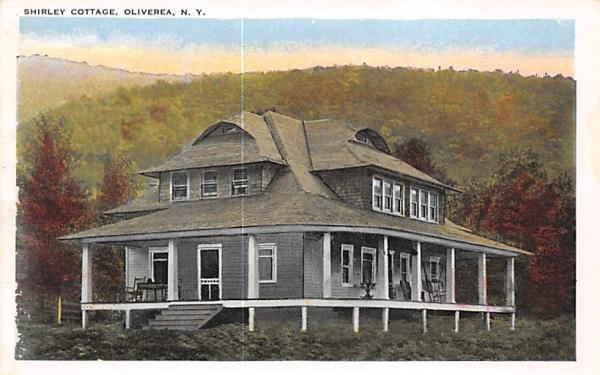 Shirley Cottage Oliverea, New York Postcard