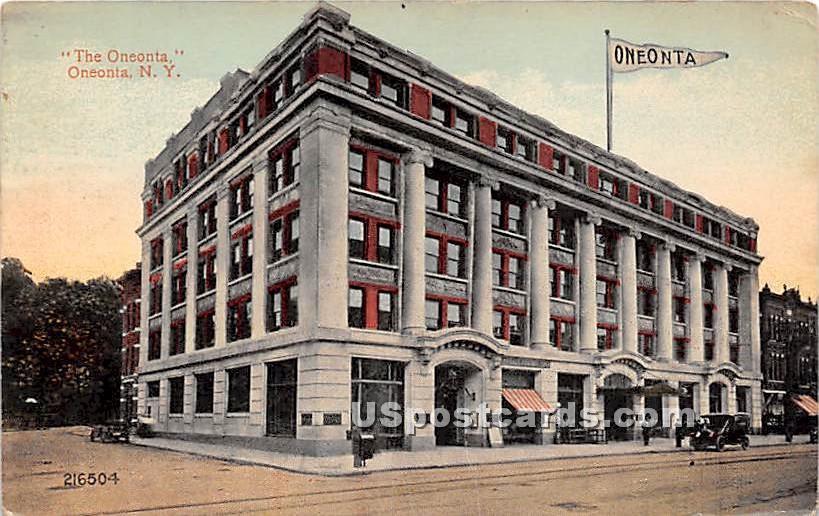 The Oneonta - New York NY Postcard