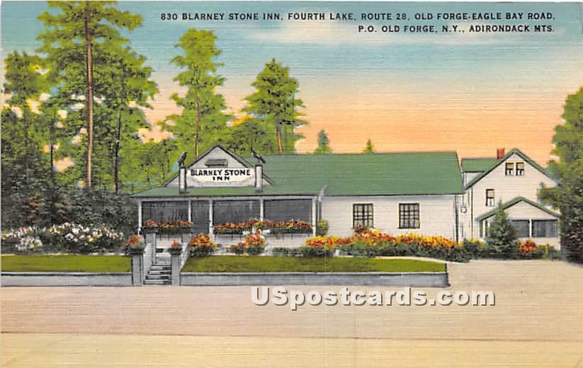 Blarney Stone Inn - Old Forge, New York NY Postcard