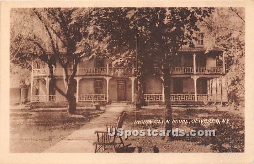 Indian Glen House - Oliverea, New York NY Postcard