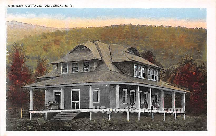 Shirley Cottage - Oliverea, New York NY Postcard