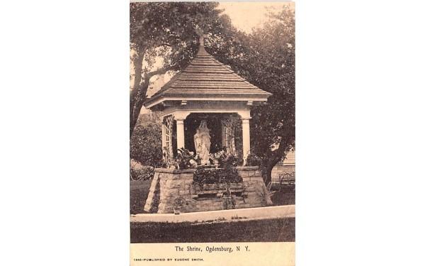 The Shrine Ogdensburg, New York Postcard