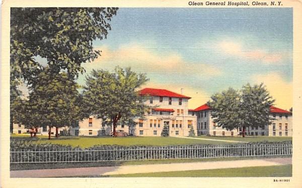 Olean General Hospital New York Postcard