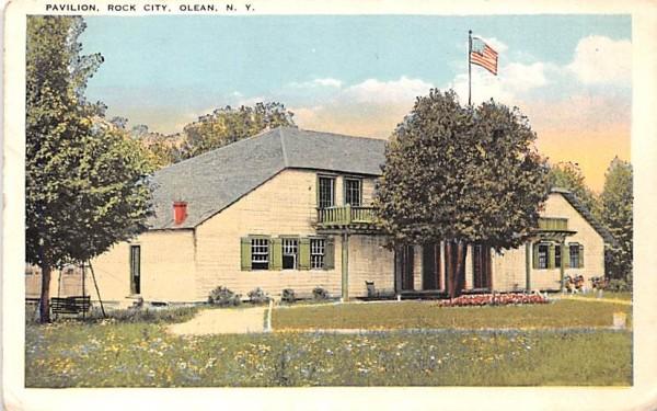 Pavilion Olean, New York Postcard
