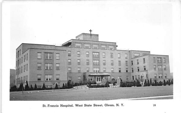 St Francis Hospital Olean, New York Postcard