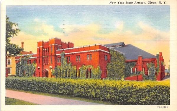 New York State Armory Postcard