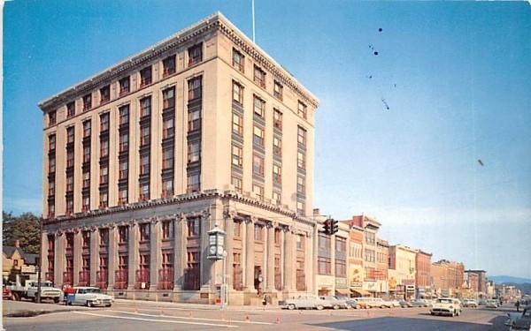 Exchange National Bank of Olean New York Postcard