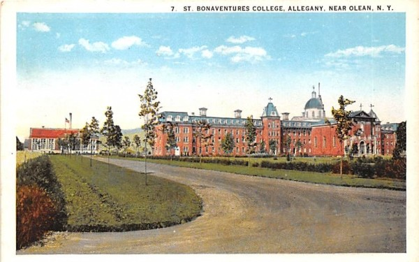 St Bonaventures College Olean, New York Postcard