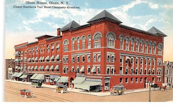 Olean House New York Postcard