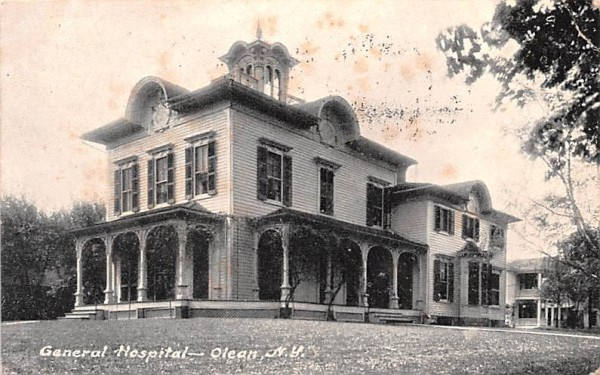 General Hospital Olean, New York Postcard