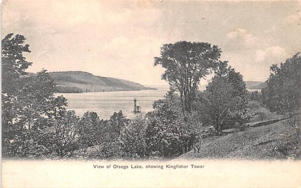 Otsego Lake New York Postcard