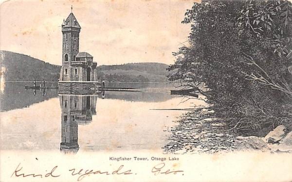 Kingfisher Tower Otsego Lake, New York Postcard