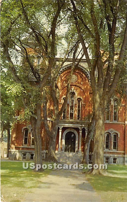 Tioga County Court House - Owego, New York NY Postcard
