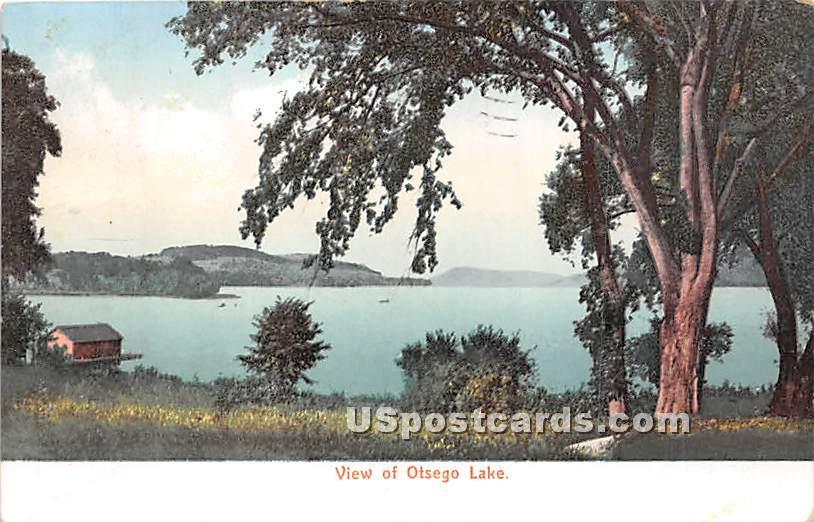 Otsego Lake, New York NY Postcard