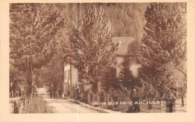 Indian Glen House Oliverea, New York Postcard