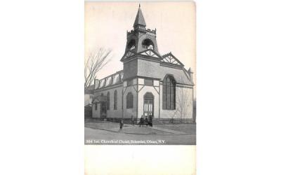 1st Church of Christ, Scientist Olean, New York Postcard