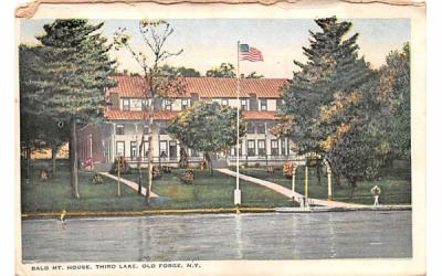 Bald Mountain House Old Forge, New York Postcard