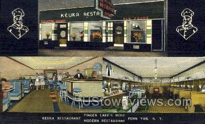 The Keuka, Finger Lake - Penn Yan, New York NY Postcard