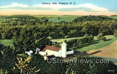 Country Side - Palmyra, New York NY Postcard