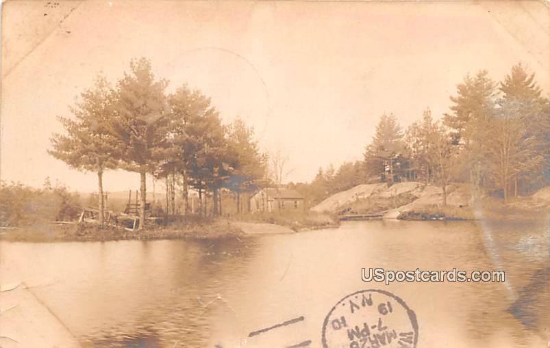 Lake View - Port Leyden, New York NY Postcard