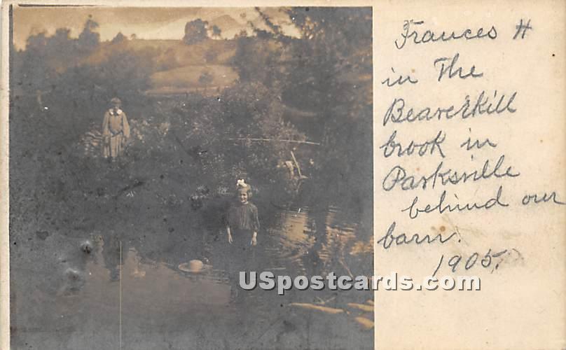 Frauces H - Parksville, New York NY Postcard