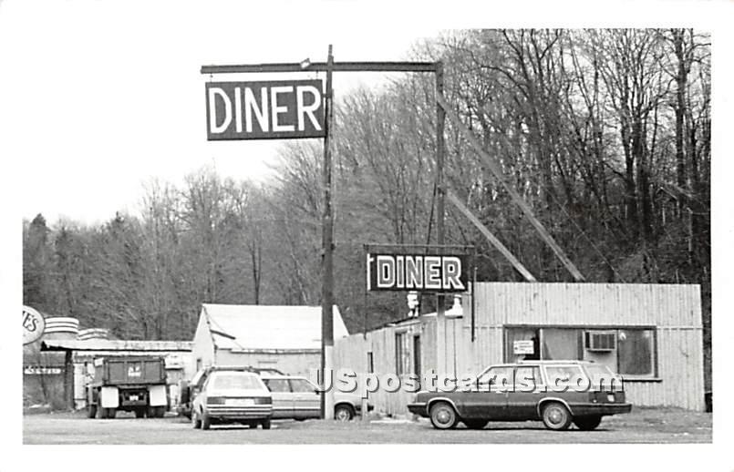 Diner - Parksville, New York NY Postcard