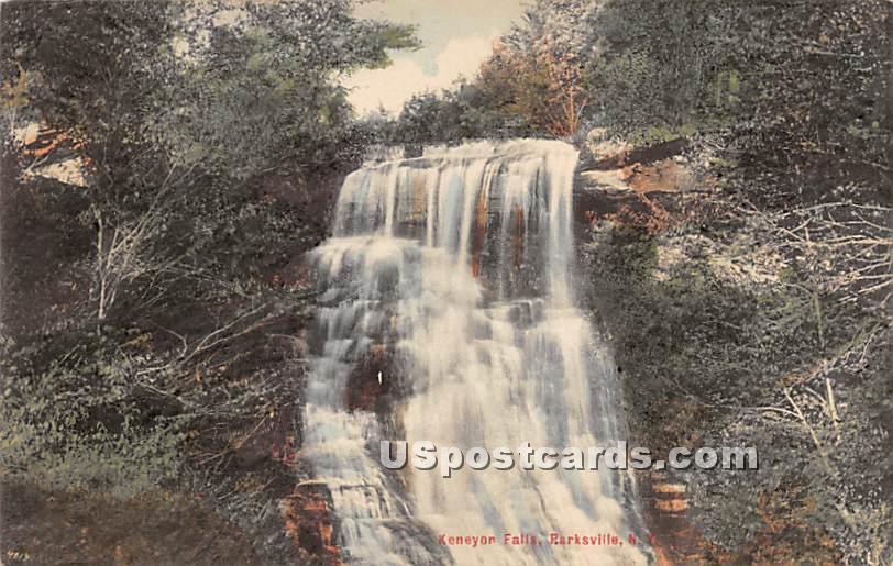 Keneyon Falls - Parksville, New York NY Postcard
