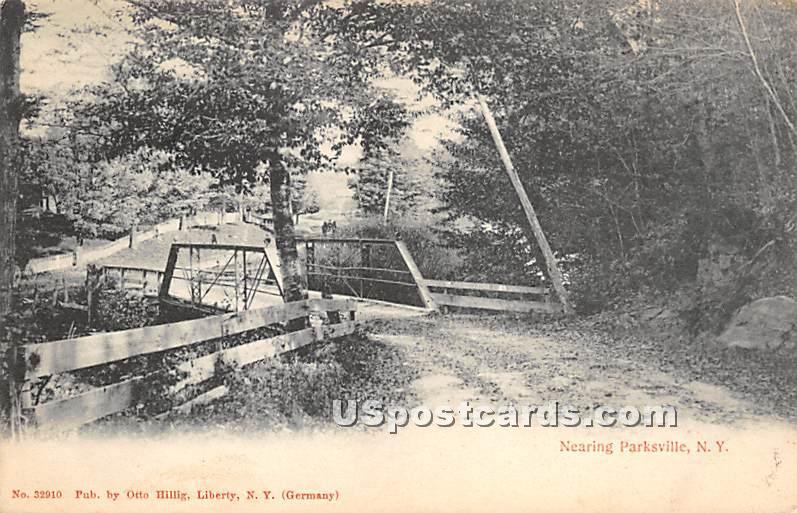 Nearing - Parksville, New York NY Postcard